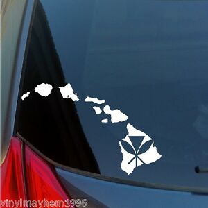 Hawaiian Islands Native Kanaka Maoli vinyl sticker decal Maui Kauai Oahu Hawaii