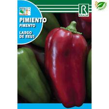 Pimiento Largo de Reus ( 1 gr / 150 semillas aprox ) seeds