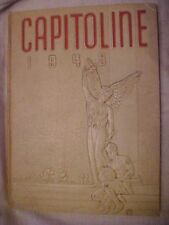 1945 YEARBOOK; CAPITOLINE, SPRINGFIELD HIGH SCHOOL, SPRINGFIELD, IL