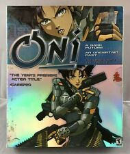 Oni by Bungie (PC, 2001) Complete SHINY Retail Box w/ Free Shipping