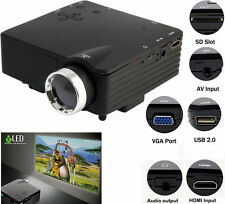 Proiettore TV portatile.Videoproiettore Full HD home cinema  VGA/USB/SD/AV/HDMI