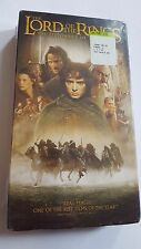 The Lord of the Rings The Fellowship of the Ring Brand New Unopened VHS 2002