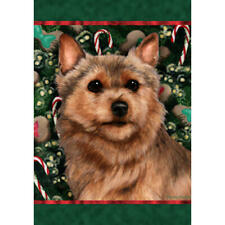 Norwich Terrier Holiday Treats Flag