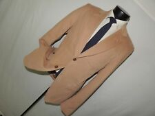 D&G Dolce&Gabbana men's 100% cotton light Brown jacket coat size 50