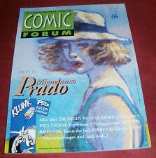 Comic Forum Band: 65 Das Magazin für Comicliteratur; Sommer 1994
