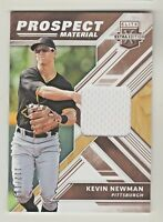 2018 Elite Extra Edition PROSPECT MATERIAL RELIC #PM-KN KEVIN NEWMAN RC 112/199