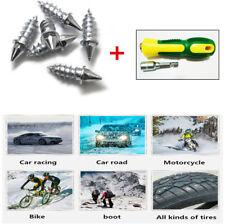 50X Car Wheel Tire Anti Slip Screw Stud Snow Chains Studs w/ Installation Tools