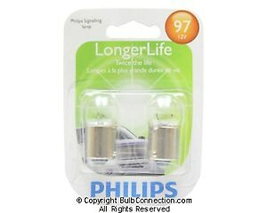 NEW Philips BC9583 97 Automotive 2-Pack 97LLB2 Bulb
