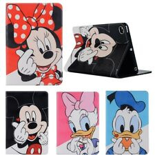 Cute Mickey Minnie Daisy Stand Case For Apple iPad Pro Air mini 5 Leather Cover