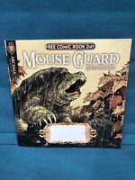 Jim Henson's Fragglerock Mouse Guard Free Comic Book Day Archaia FCBD April 2010