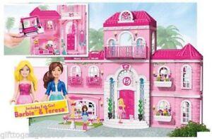 Mega Bloks Barbie Build 'n' Style Luxury Mansion 80229 New