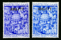 Trieste Stamps # 74-5 VF OG NH Set of 2 Scott Value $44.00