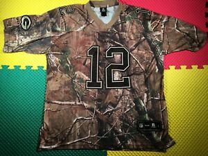 Aaron Rodgers Green Bay Packers Reebok Real Tree Camouflage Jersey Men's Size L
