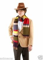 Dr Doctor Who 6-color Striped 6' Scarf Cosplay Fourth 4th DELUXE Tom Baker