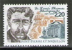 SPM  488 NEUF ** SANS CHARNIERE TTB  - DOCTEUR LOUIS THOMAS