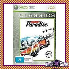 Burnout Paradise Classics (Microsoft Xbox 360) Brand New