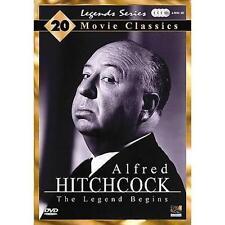Alfred Hitchcock - The Legend Begins (DVD, 2007, 4-Disc Set) USED