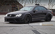 MERCEDES CLK W209 BLACK SERIES WIDE BODY CONVERSION KIT CLK63 CLK55 CLK550 AMG