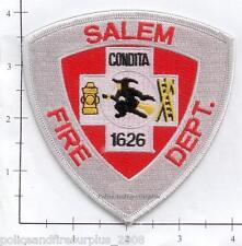 Massachusetts - Salem MA Fire Dept Patch v3 - Old Style