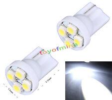 2 pcs T10 Blancas 4 3528 LED de la cuña la cola coches bombillas 194 168 W5W 12V