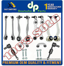 Audi A8 & QUATTRO Control Arm Arms Ball Joint Tie Rod Sway Bar Link Kit 12 Pc