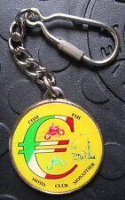 MOTO CLUB MONASTIER 25. Motoraduno 2002 SCHLÜSSELANHÄNGER Plakette Medaille gut