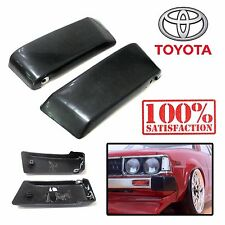 Toyota Corolla KE70 KE72 TE70 Front Bumper Corner Guard TE71 LONG Pairs End Caps