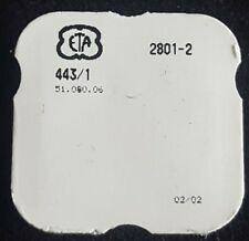 ETA Caliber 2801-2 Part Number 443/1 (Setting Lever)