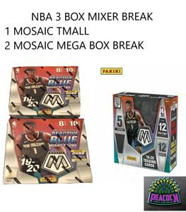 1 BOX 19-20 MOSAIC TMALL AND 2 MOSAIC MEGA BOXES #6 MILWAUKEE BUCKS