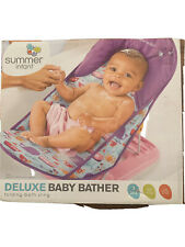 Summer Infant Baby Bather Shower Seat Bathing Support Folding