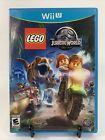 LEGO Jurassic World (Nintendo Wii U, 2015,) CIB