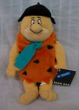 "WB Hanna-Barbers The Flintstones FRED FLINTSTONE 9"" Bean Bag STUFFED Toy NEW"