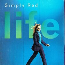 (CD) Simply Red - Life -Fairground, Never Never Love, Remembering The First Time