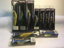 (Lot of 10) Vintage Sebile Fish Lure Possessed Series Koolie Minnow Freshwater