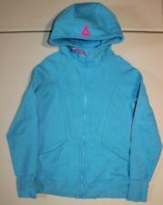 Ivivva Scuba Hoodie Good In The Hood Jacket Sz: 12 Number One Lululemon Blue