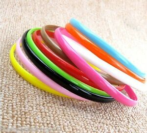 Alice head band bands girls childs kids plain various colours lot