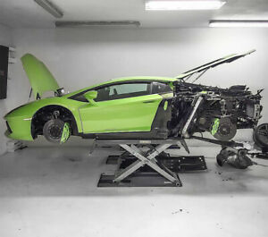 Strongman Clifton Mid Rise Scissor 3T Home Garage Car Lift  Workshop Ramp 240v