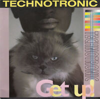 "Technotronic ‎7"" Get Up (Before The Night Is Over) - France"