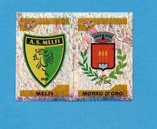 PANINI CALCIATORI 2004-05- Figurina n.747- MELFI+MORRO D'ORO -SCUDETTO-NEW