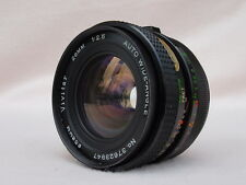 FAST VIVITAR 28mm F2.5 M42 LENS CAN FIT PENTAX, CANON EOS, EF, DIGITAL - EXCELLE