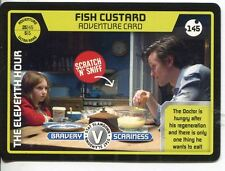 Doctor Who Monster Invasion Card #145 Fish Custard
