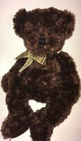 "Russ  Ellsworth Brown Bear  15"" Plush Stuffed Animal"