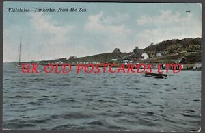Kent -  Whitstable,  View of TANKERTON from the Sea, used 1907