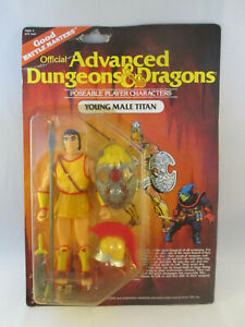 Advanced Dungeons & Dragon Young Male Titan NEW LJN 1983 Action Figure D&D