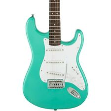 Squier Bullet Stratocaster SSS Electric Guitar with Tremolo Sea Foam Green