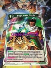 Carte DRAGON BALL SUPER : BAGUE DE BROLY BT1-081 C x 3