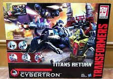 HASBRO TRANSFORMERS TITANS RETURN SIEGE ON CYBERTRON STRENGTH Force BOX SET