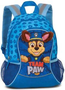 Paw Patrol Chase Rucksack marineblau 3D KITA Kindergarten Vorschule Hund Junge