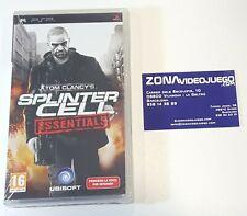 Tom Clancy's Splinter Cell Essentials, Sony Psp, Pal-Esp. Nuevo a estrenar.