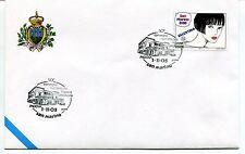 2003-11-01 San Marino Padova 50° convegno numismatico filatel. ANNULLO SPECIALE